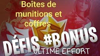 Fortnite : Fouiller des coffres ou des boites de munitions à un motel ou une aire de camping-cars
