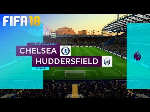 FIFA 18 - Chelsea vs. Huddersfield Town @ Stamford Bridge