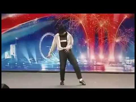 Britain's got talent Michael Jackson dancing Hindi Song
