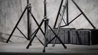 Ultimate Support TS-100B Aluminum Tripod Speaker Stand