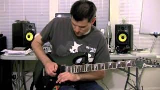 "Guitar Trick: How to do the Joe Satriani ""Scream"""