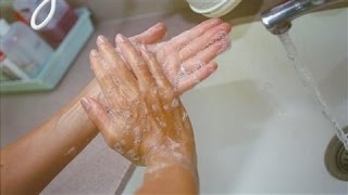 Washing Your Hands: Not as Easy as Soap, Rub, Dry