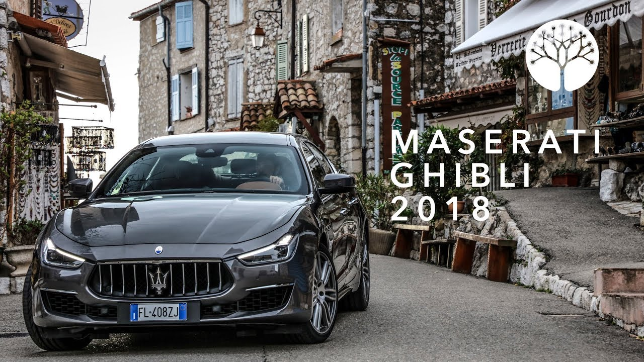 driven maserati ghibli s granlusso 2018 review youtube. Black Bedroom Furniture Sets. Home Design Ideas