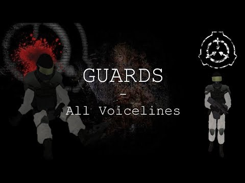Guards | All Voicelines with Sutbtitles | SCP - Containment Breach (v1.3.9)