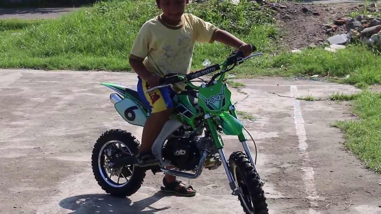 MOTOR MINI TRAIL KXD 4 TAK 082131404044 Rp 8000000 SURABAYA