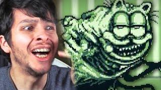 ENCONTRÉ AL NUEVO GARFIELD CREEPY !! INCREÍBLE - Lasagna boy (Horror Game)