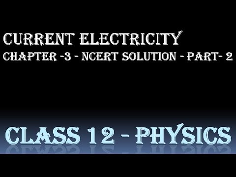 current electricity | neet | iit jee | class 12 physics