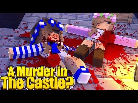 A MURDER IN THE CASTLE?! w/Little Kelly (Minecraft Roleplay).
