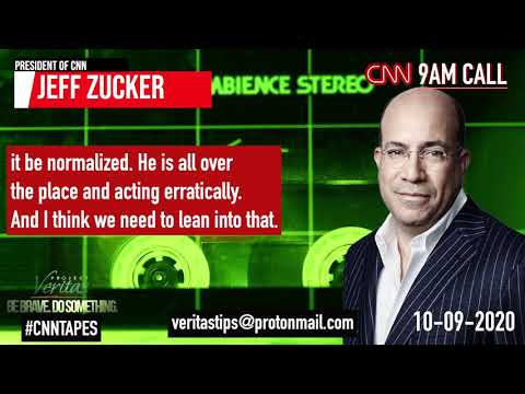 #CNNTapes: CNN President Jeff Zucker BLASTS Trump & Republicans on 9am Call with Senior Leadersh