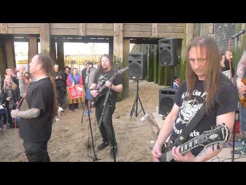 Flowers of Flesh & Blood -  Miracles From Nightmares - Thames Beach - 26/9/15
