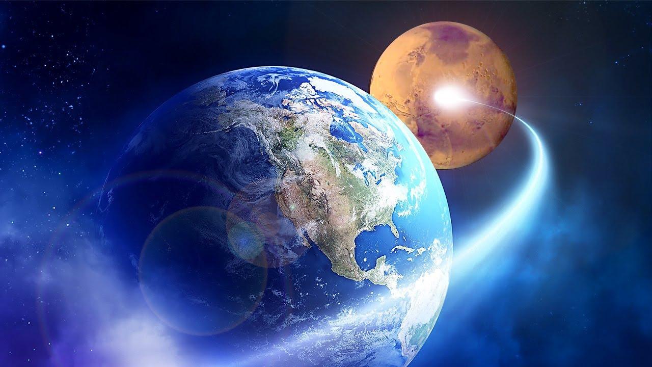 Viaje a Marte a la velocidad de la luz