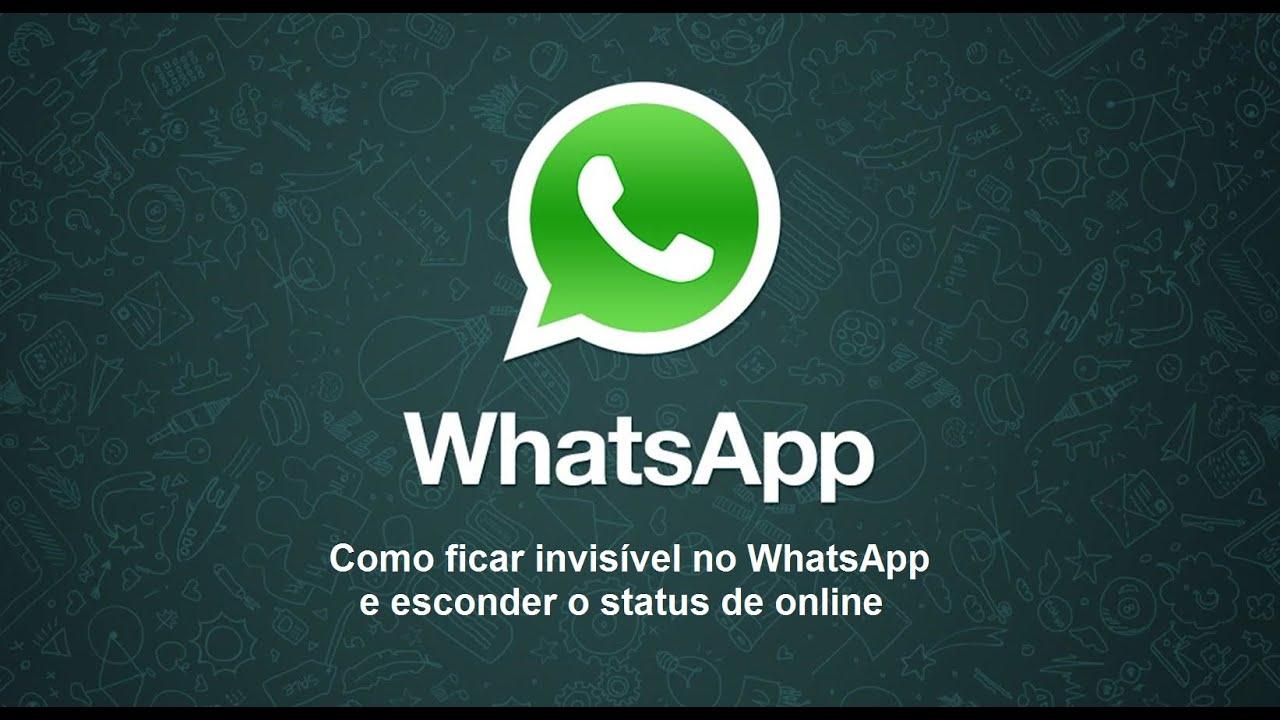 como tirar o online do whatsapp em iphone