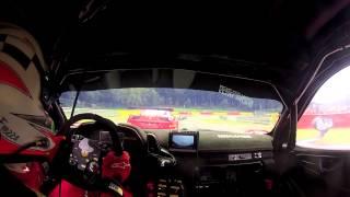 Onboard Camera - Spa race 1 -  Ferrari 458 GT3  Marco Frezza