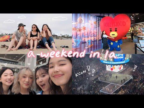 A Weekend In LA: Kcon La 2019, Meeting Youtube Friends, Wholesome Adventures :')
