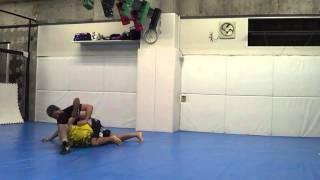Dan The Wolfman Live In Action vs Japanese MMA UFC Akihiro Gono Grabaka Jiu-jitsu Catc
