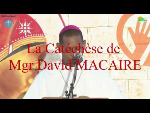Catéchèse de Mgr David MACAIRE Mercredi 5 avril 2017