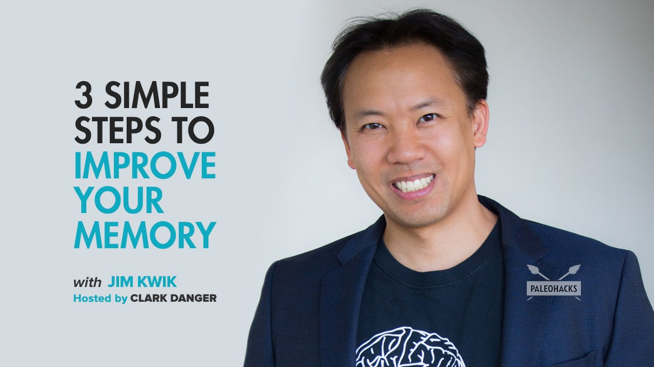Jim Kwik | 3 Simple Steps To Improve Your Memory - YouTube