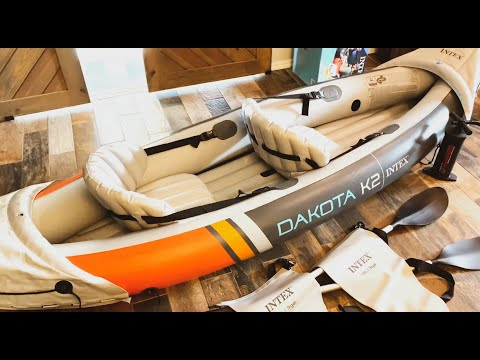 Is the Intex Dakota K2 inflatable canoe kayak any good? We say yes! Check out our unboxing review