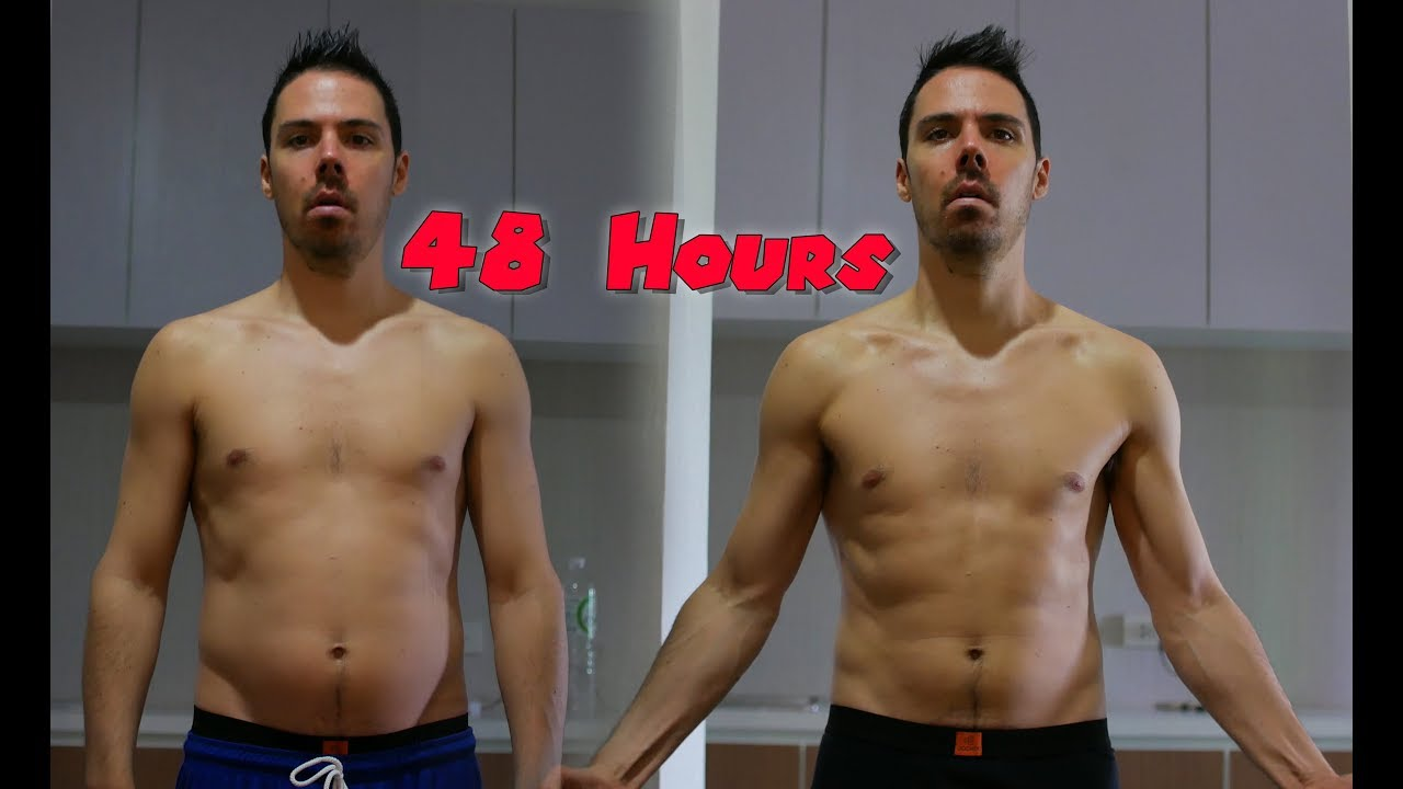 Lose 11 Pounds In 2 DAYS! Easy 48 Hour Water Fast Tips: Before and After