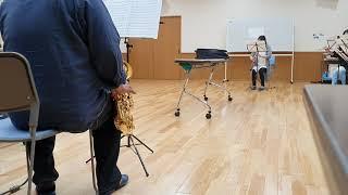 ブラスグルーヴ 熱帯jazz楽団 言い訳 超久しぶりに吹いた曲なのでズタボロです(汗) Cadeson T-832G ESM Jazz Heaven #7 Ligature Bambu.