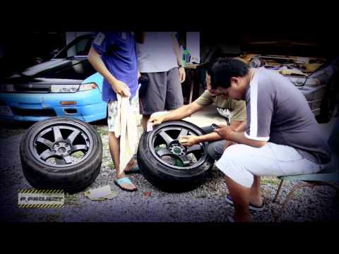 วิธีพ้นสีล้อรถง่ายๆ ทำเองก็ได้ By P.Project Racing