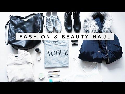 FASHION & BEAUTY / Naturkosmetik HAUL Zara H&M Topshop RMS