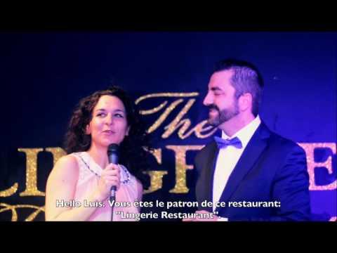 cda05bbbc LOVE TROTTER CITY Julia Palombe   The Lingerie Restaurant PORTO - Portugal
