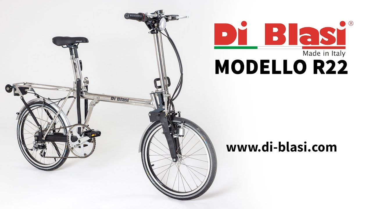 Di Blasi Pieghevole.Bicicletta Pieghevole Di Blasi R22