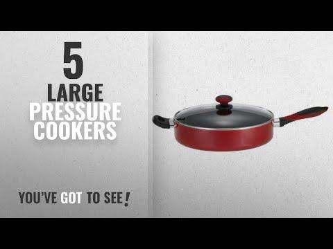 Best Large Pressure Cookers [2018]: Mirro A79682 Get A Grip Aluminum Nonstick Jumbo Cooker Deep Fry
