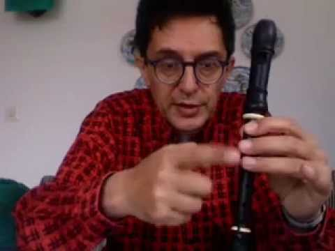 music lesson: (1) first steps with a descant recorder