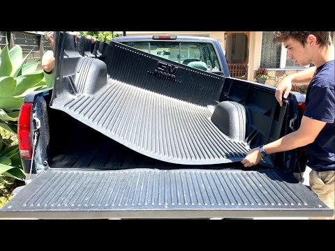 How To Remove And Install A GM Truck Plastic Bed Liner