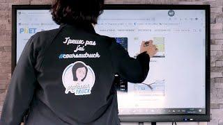 Témoignage sur l'utilisation de l'écran interactif par le Professeur Truck