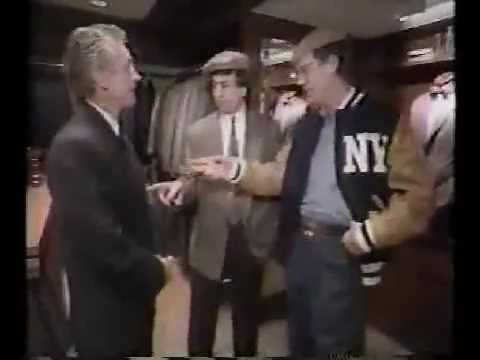 1992 - Dave and Marv Albert go shopping