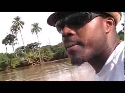 My Trip To Cameroon: Crossing the Mbam river on my way to Bankim