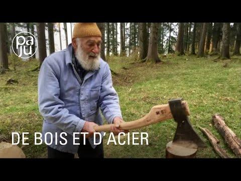 """Une rencontre de bûcherons et forgerons passionnés: """"De bois et d'acier"""" (doc 26 min)"""