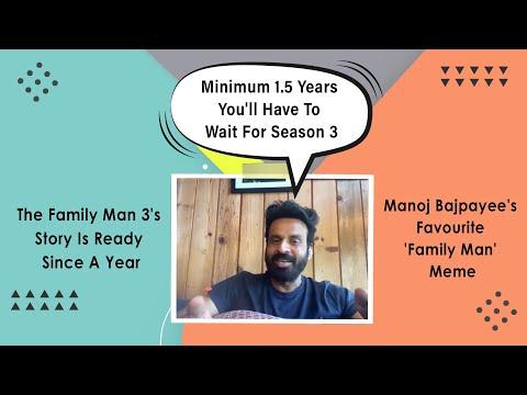 Manoj Bajpayee REVEALS The Release Period Of The Family Man Season 3, His Favourite Meme & More