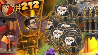 MONGOLFIERE MAXATE !!! (Lv.7) Dual Maxing | Clash of clans #212 [ITA]