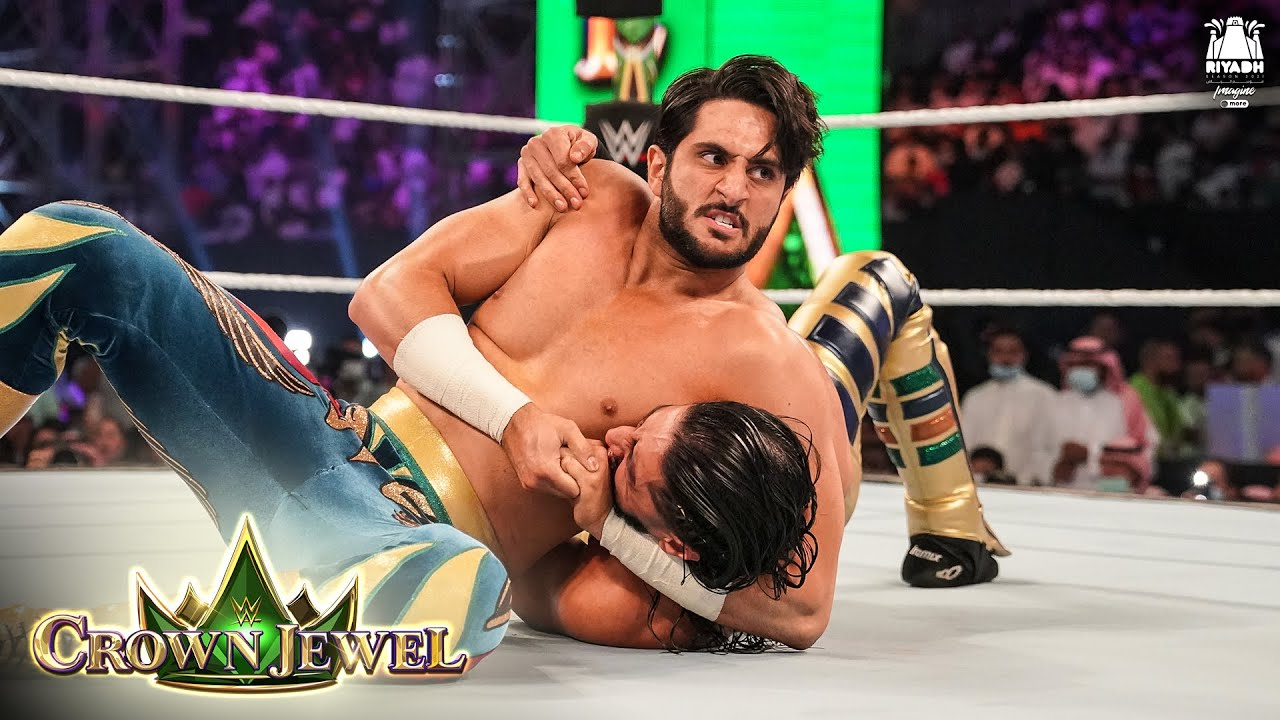 Download Mustafa Ali's trash talk gets Mansoor fired up: WWE Crown Jewel 2021 (WWE Network Exclusive)