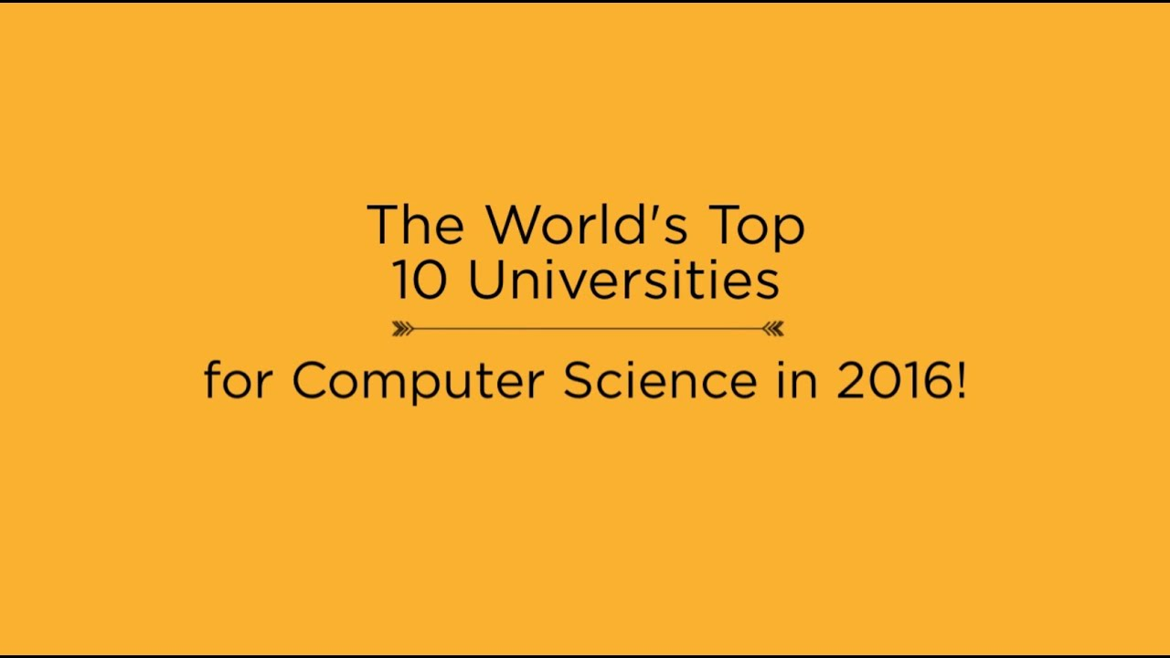 Computer Science Degrees | Top Universities