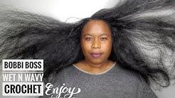So Natural! Bobbi Boss Brazilian Wet & Wavy 20 Crochet Hair - wiggit.co.uk