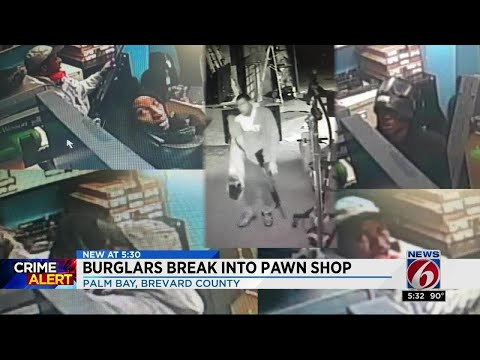 Palm Bay pawn shop targeted for guns during Hurricane Irma