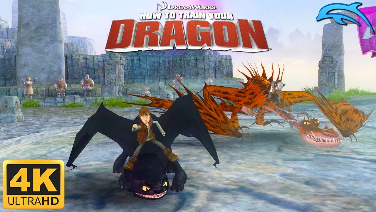 How to train your dragon gameplay wii 4k 2160p dolphin 50 youtube ccuart Choice Image