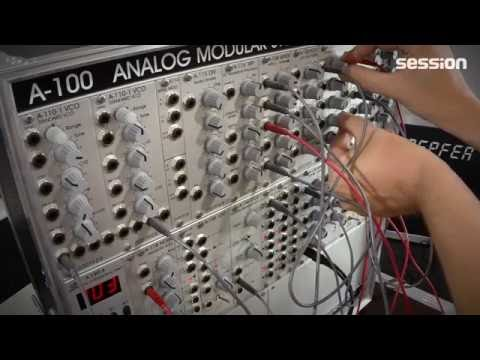 Doepfer A-100 Basissystem 3 SE Analog-Synthesizer Modular-System Video-Review