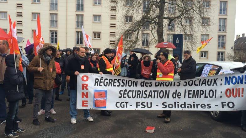 Manifestation Contre La Loi Travail A Argentan
