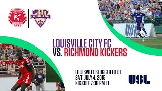 Livestream: Richmond Kickers vs. Louisville City FC - July 4