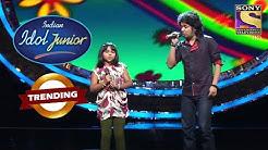 Junior Contestant  Spectacular Performance  Indian Idol Junior Trending