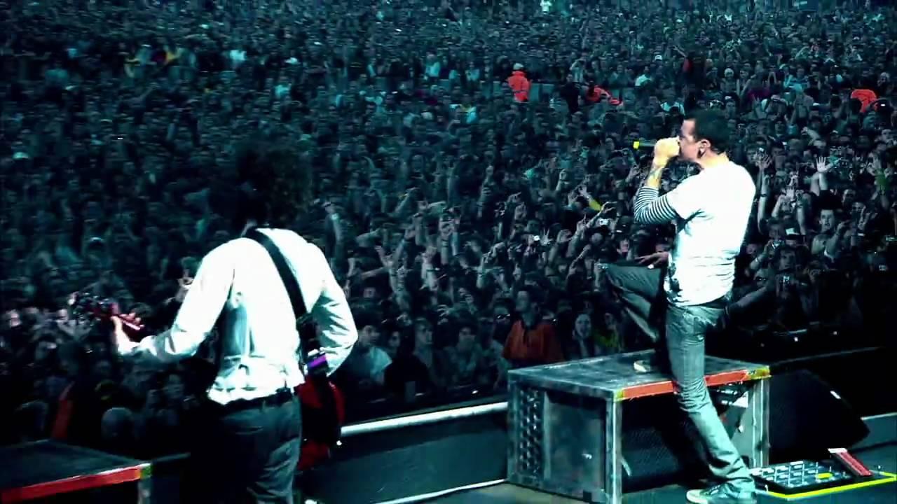 Band Wallpapers Hd Linkin Park Papercut Live At Milton Keynes Hd Youtube
