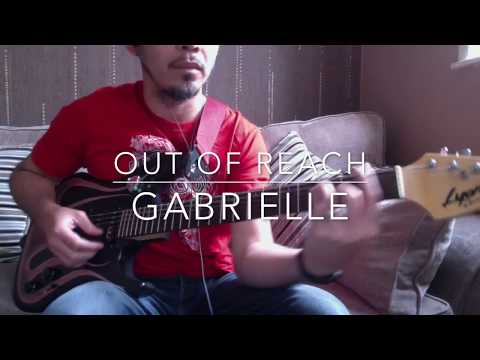 Out Of Reach by Gabrielle semi-live karaoke