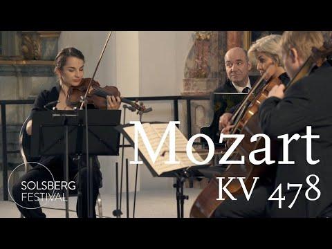 W.A. Mozart: Piano Quartet No. 1 / KV 478 / Pogostkina, Hagen, Meyer, Ducros
