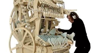 Wintergatan - Marble Machine【NEW 2016】【MUST SEE】 (music instrument using 2000 marbles)